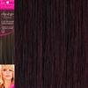 "Clip and Go 4 High Heat Fiber Clip In Hair Extensions 18"" Colour 99J"