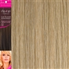 "Clip and Go 4 High Heat Fiber Clip In Hair Extensions 18"" Colour Ash Blonde"