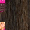 "Clip and Go 4 High Heat Fiber Clip In Hair Extensions 18"" Colour P4/30"