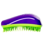 Dessata Detangling Hairbrush Purple & Lime