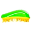 Dessata Detangling Hairbrush Green & Yellow