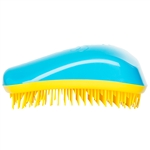 Dessata Detangling Hairbrush Turquoise and Yellow