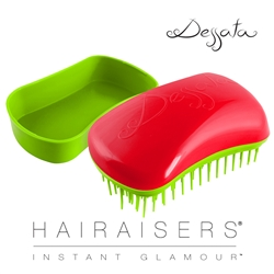 Dessata Mini Detangling Hairbrush Cherry & Lime