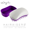 Dessata Mini Detangling Hairbrush White & Purple