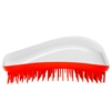 Dessata Detangling Hairbrush White and Tangerine
