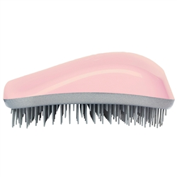 Dessata Detangling Hairbrush Pink and Silver