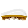 Dessata Detangling Hairbrush White and Gold