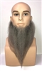 Medium Length, Full Human Hair Beard