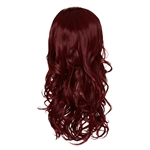 Live it Loud Volumising Hair Piece. Glamorous Curl Burgundy