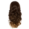 Balayage Ombre Three Quarter Hair Piece Curly Hazelnut and Mocha