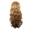 Balayage Ombre Three Quarter Hair Piece Curly Sun Kissed Cocoa