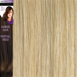 Modelgirl Partial Head Clip In Human Hair Extensions Colour 24/SB