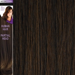 Modelgirl Partial Head Clip In Human Hair Extensions Colour 5