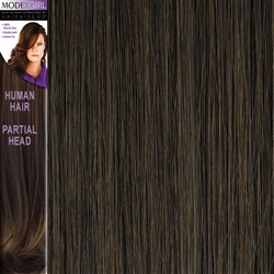 Modelgirl Partial Head Clip In Human Hair Extensions Colour 6