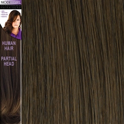 Modelgirl Partial Head Clip In Human Hair Extensions Colour 8
