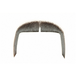 Fake Moustache Fu Manchu Real Human Hair