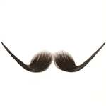 Fake Moustache Edwardian Gentleman Real Human Hair