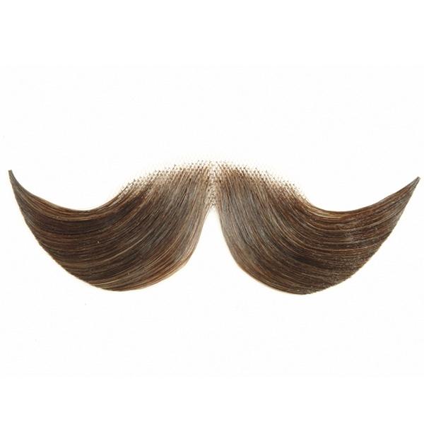Brilliant Fake Moustaches Hercule Poirot Human Hair Fake Moustache Short Hairstyles For Black Women Fulllsitofus