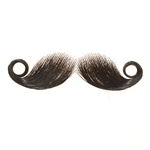 Fake Moustache Fancy Dress Real Human Hair