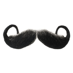 Fake Moustache Rollie Fingers Real Human Hair