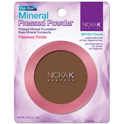 Cocoa Mineral Pressed Powder Foundation