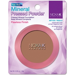 Walnut Mineral Pressed Powder Foundation