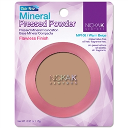 Warm Beige Mineral Pressed Powder Foundation