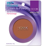Almond Mineral Cream to Powder Foundation by Nicka K