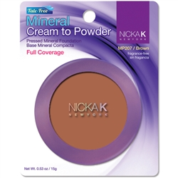 Brown Mineral Cream to Powder Foundation by Nicka K