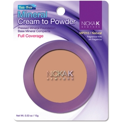 Natural Mineral Cream to Powder Foundation by Nicka K