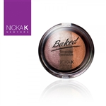 Terracotta Baked Eye Shadow | Triple Shade Sparkle Bronze