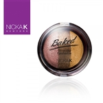 Terracotta Baked Eye Shadow | Triple Shade Sparkle Inca