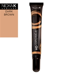 Dark Brown Face Concealer by Nicka K