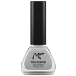 Sparkling Silver Nail Enamel by Nicka K New York