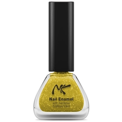 Gold Glitter Nail Enamel by Nicka K New York