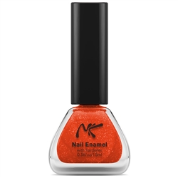 Naranja Glitter Ornange Nail Enamel by Nicka K New York