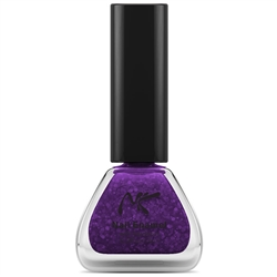 Neon Glitter Purple Nail Enamel by Nicka K New York