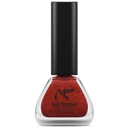 Orange Glitter Nail Enamel by Nicka K New York