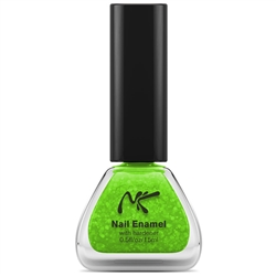Neon Glitter Green Nail Enamel by Nicka K New York