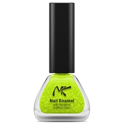 Neon Glitter Yellow Nail Enamel by Nicka K New York