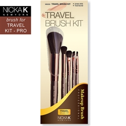 Professional Makeup Artist's Travel Brush Kit
