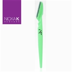 Green Eyebrow Razors by Nicka K New York