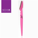 Pink Eyebrow Razors by Nicka K New York
