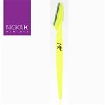 Yellow Eyebrow Razors by Nicka K New York