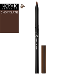 Black Automatic Lip Liner Pencil by Nicka K New York