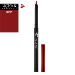 Red Automatic Lip Liner Pencil by Nicka K New York