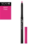 Deep Pink Automatic Lip Liner Pencil by Nicka K New York