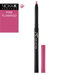 Flamingo Pink Automatic Lip Liner Pencil by Nicka K New York