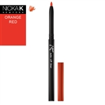 Orange Red Automatic Lip Liner Pencil by Nicka K New York
