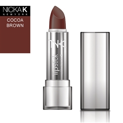 Cocoa Brown Cream Lipstick by NKNY